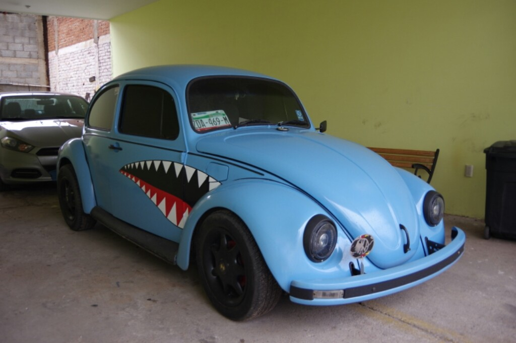 VW Beetles are still common here and were made in Mexico until 2003