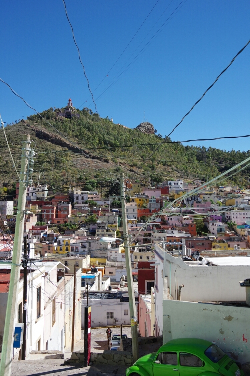View of Cerro La Bufa