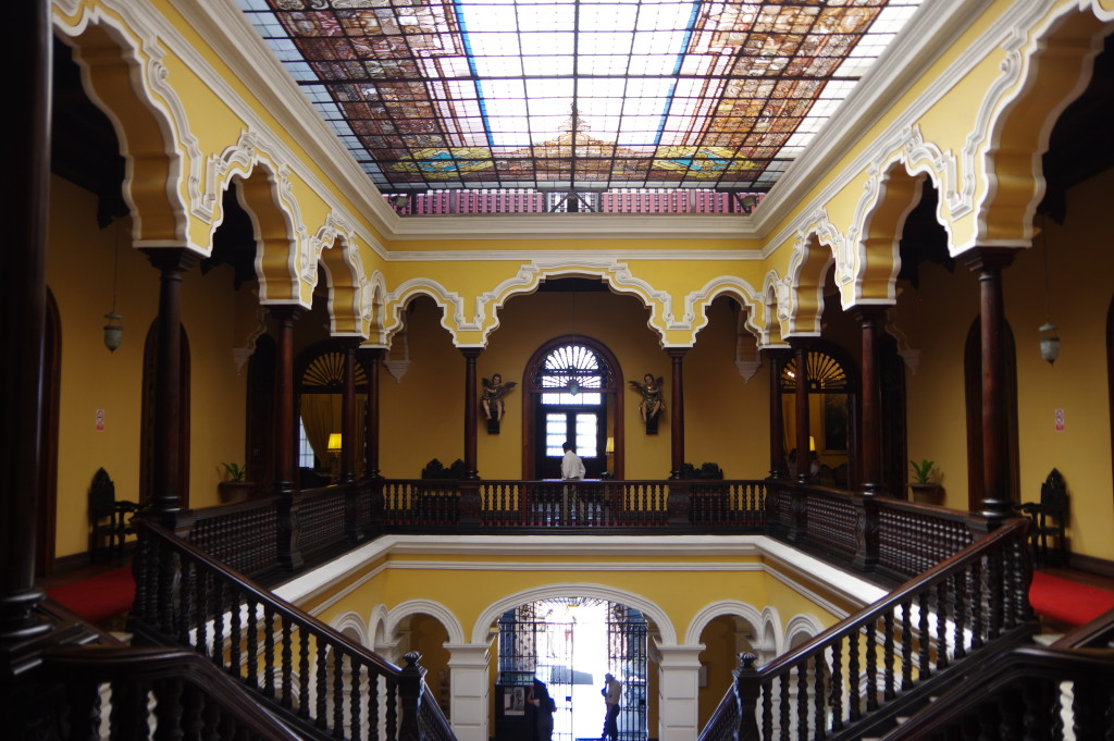 Inside the Archbishop's Palace