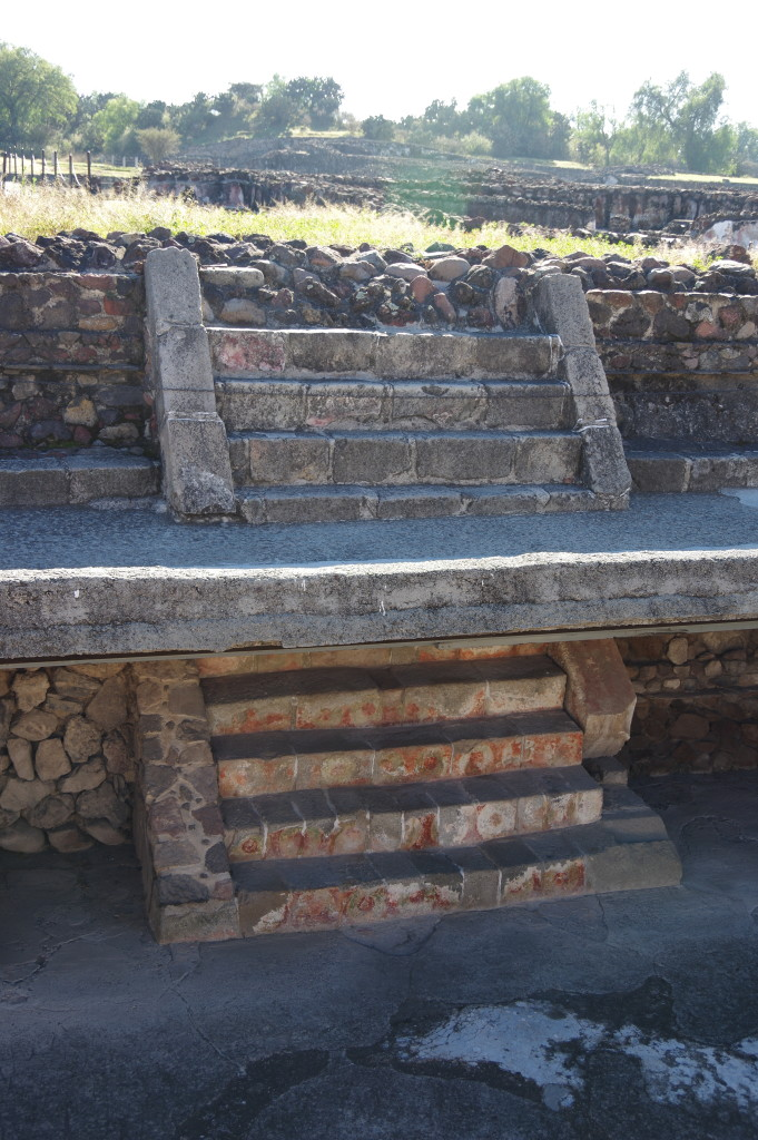 Many ruins in Teotihuacán consist of several layers built in different time periods