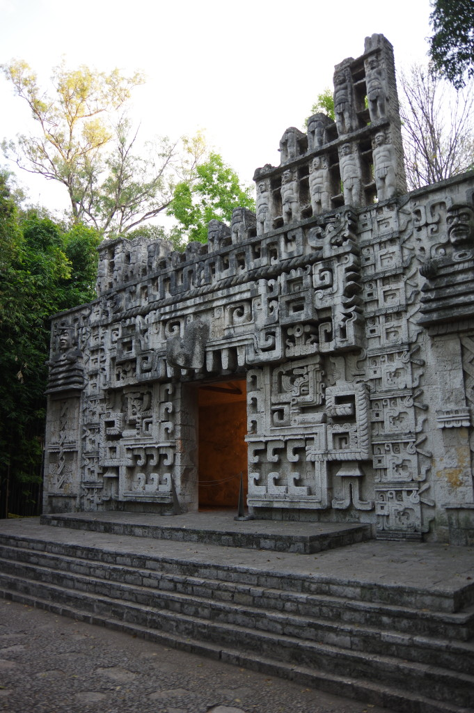 Replica of a temple (Anthropology museum)