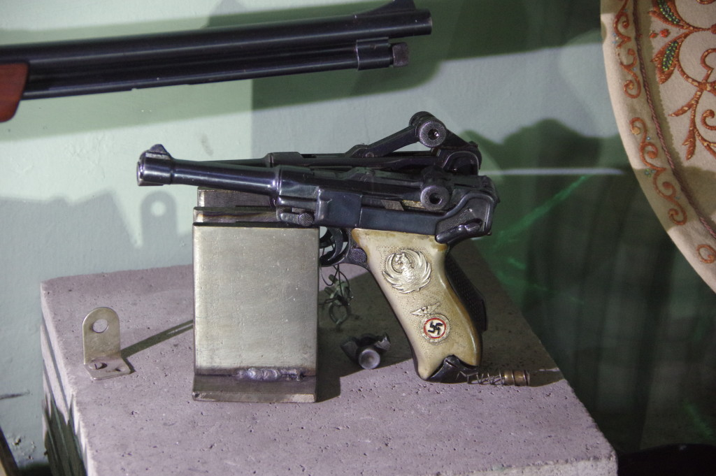 An actual Nazi gun in the military museum