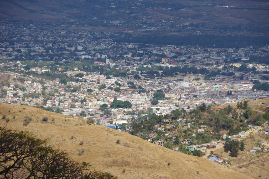 View of Oaxaca from Montealbán