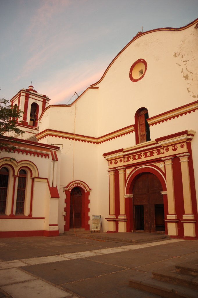 Church in Tehuantepec