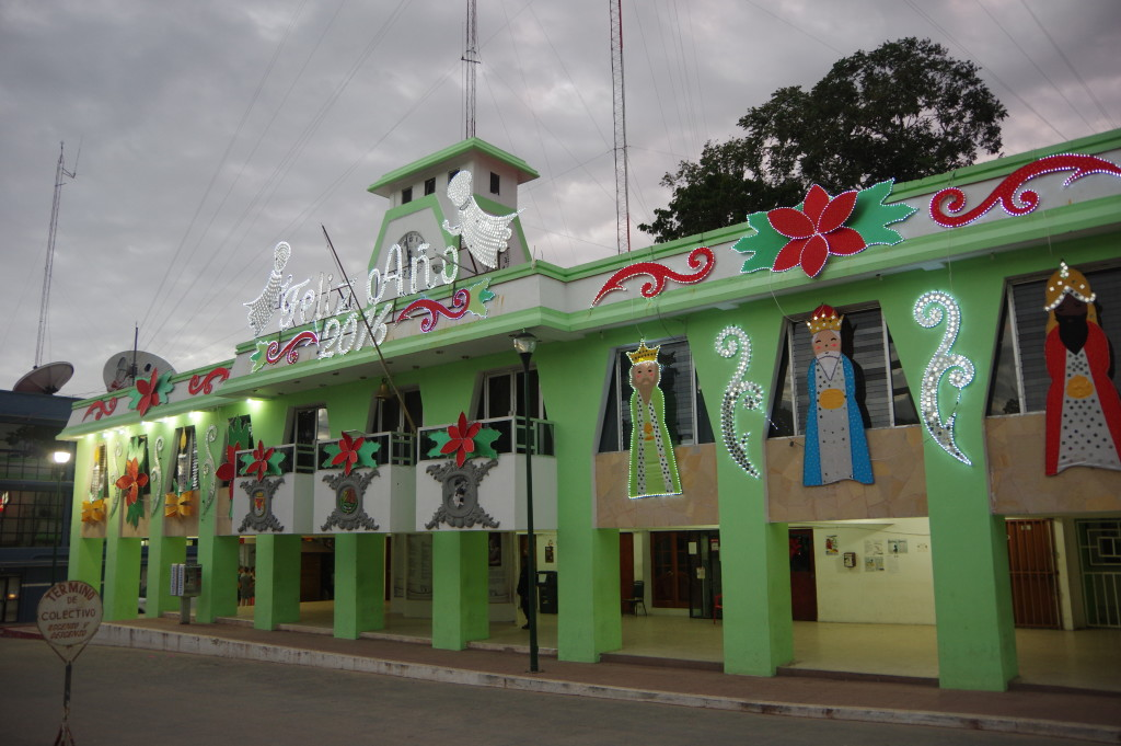 Town hall of Palenque