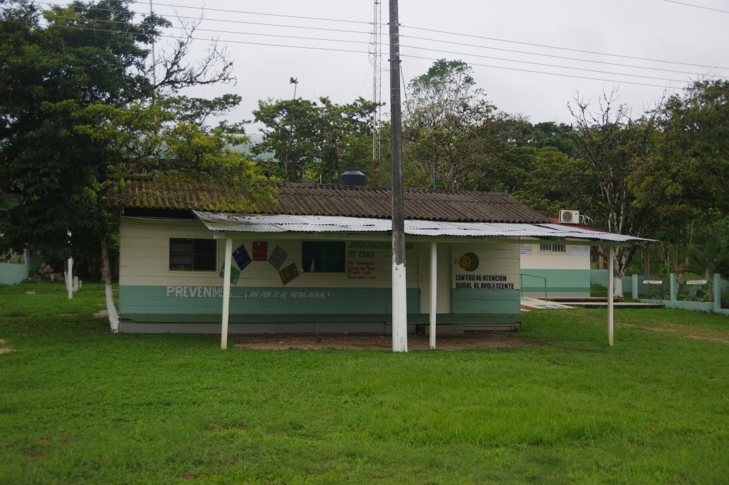 A building in Lacanjá Chansayab dedicated to young people