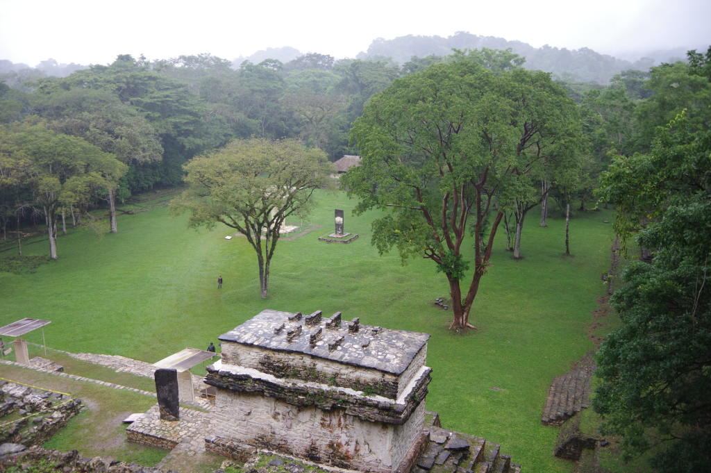 View of the Bonampak site