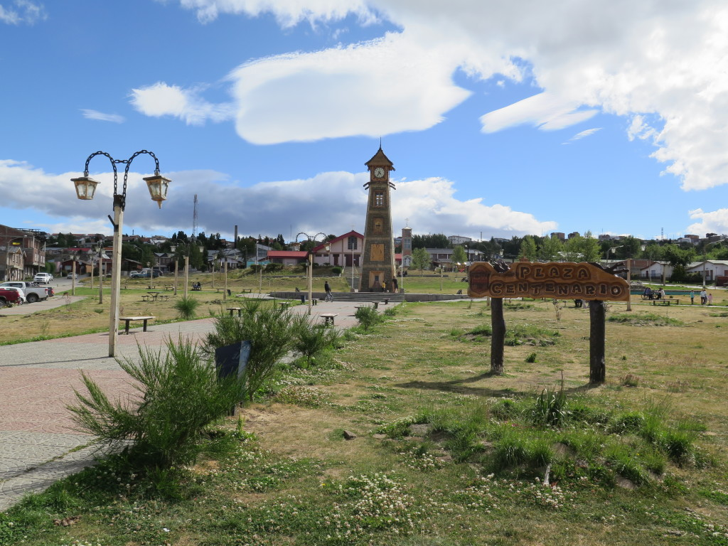 Park in Rio Turbio, on the way to Puerto Natales