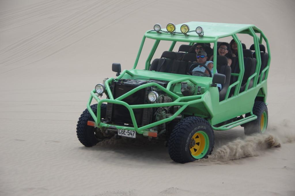 Braking sand buggy
