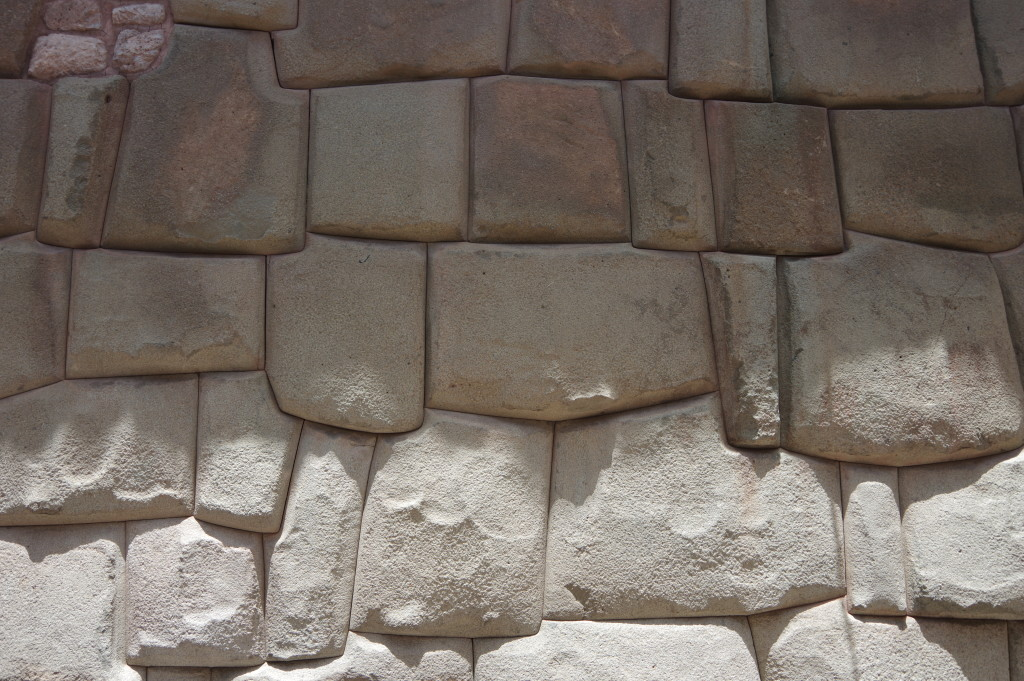 Inca mortar-free wall