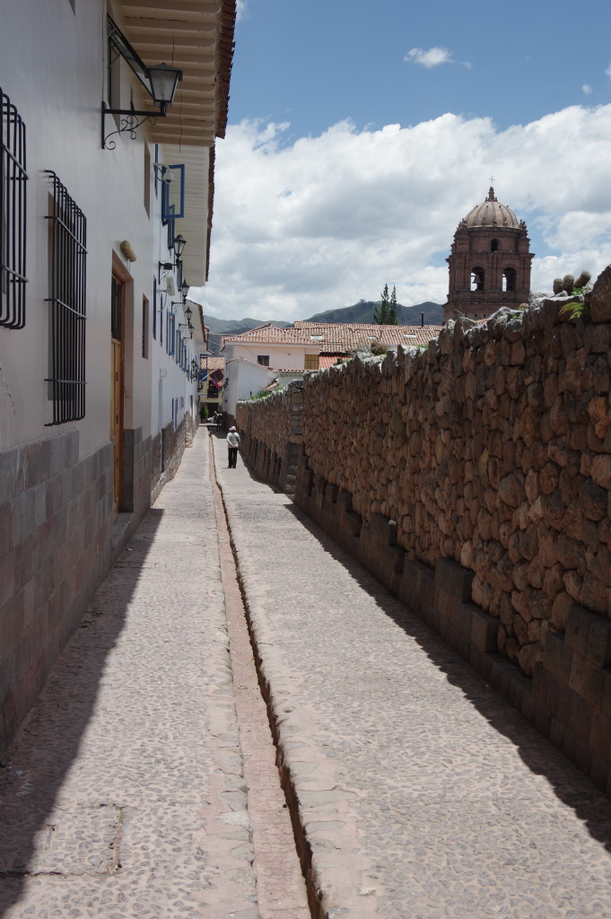 The incas had advanced drainage systems in their cities - some are still in use in Cusco
