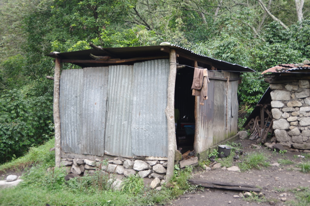 Hut from outside