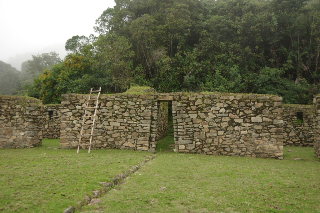Llactapata ruins (apparently there are others by the same name along the inca trail)