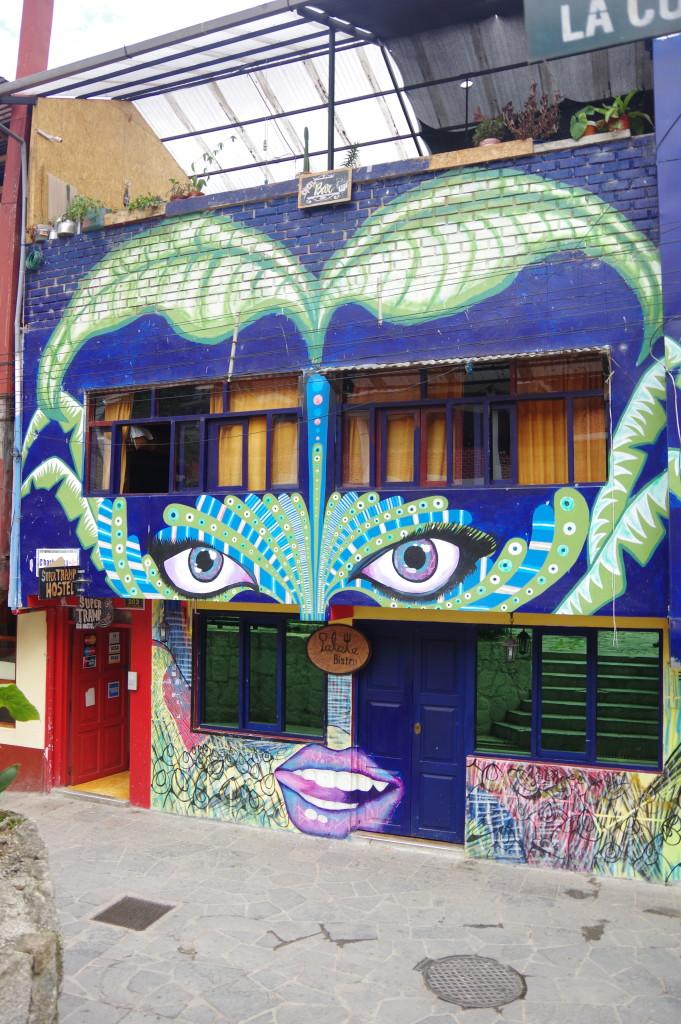 Hostel front facade