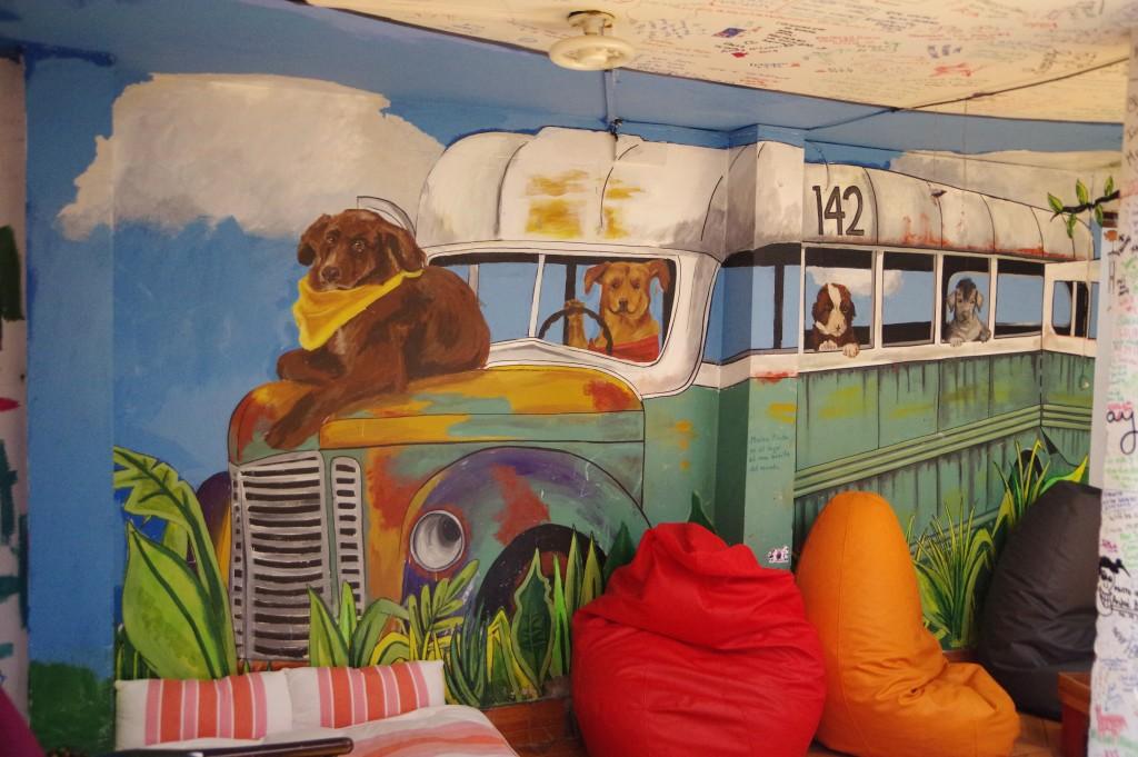 Mural inside