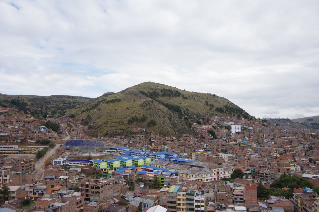 Hill above Puno