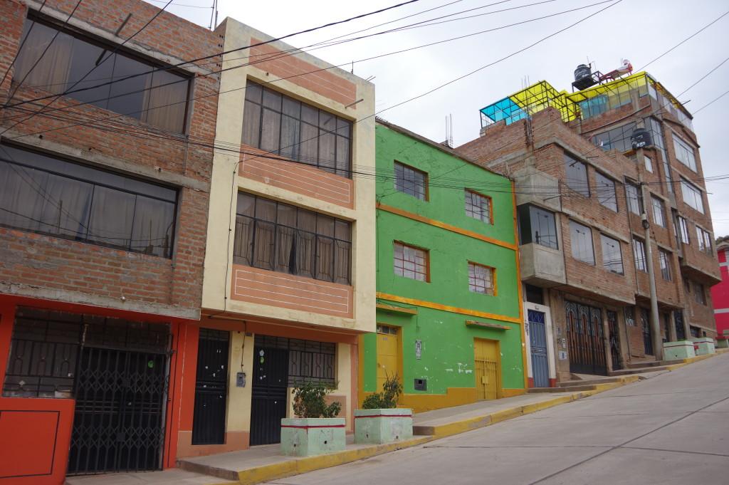 Facades in Puno