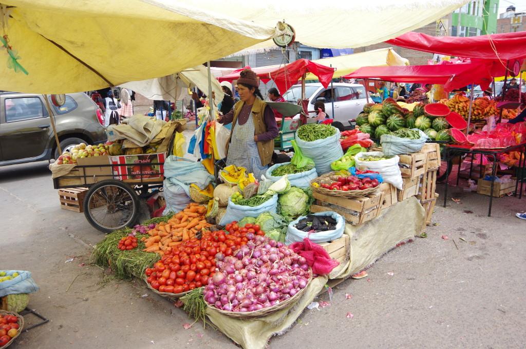 Market in Puno