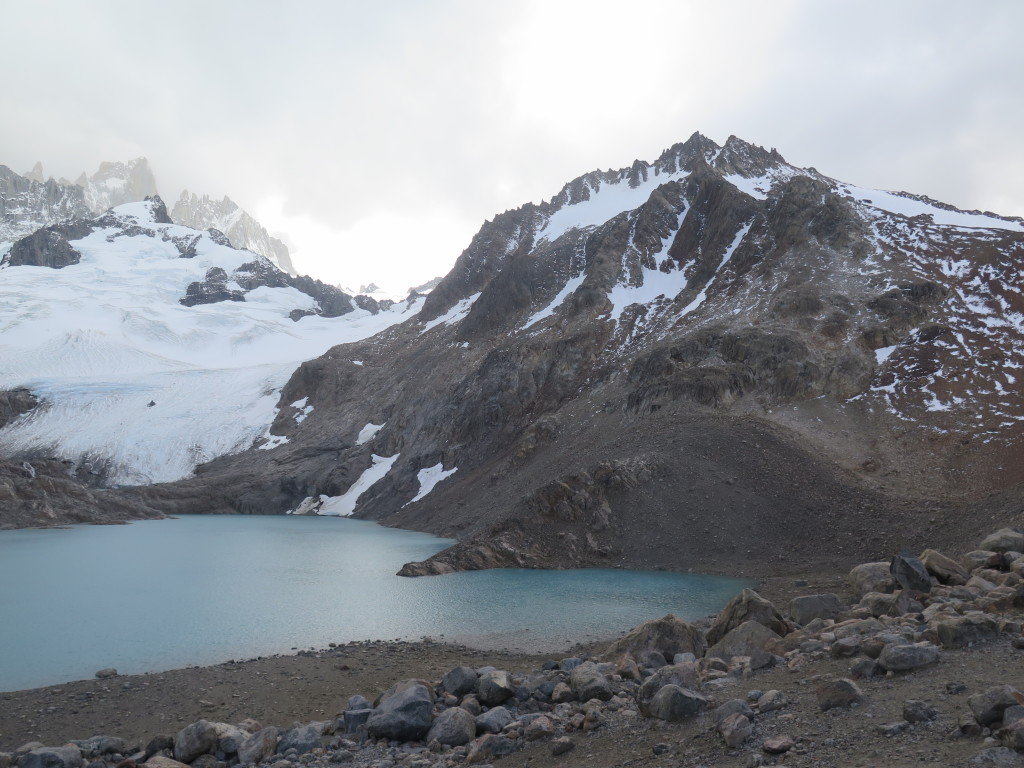 Laguna de los Tres, below Fitz Roy