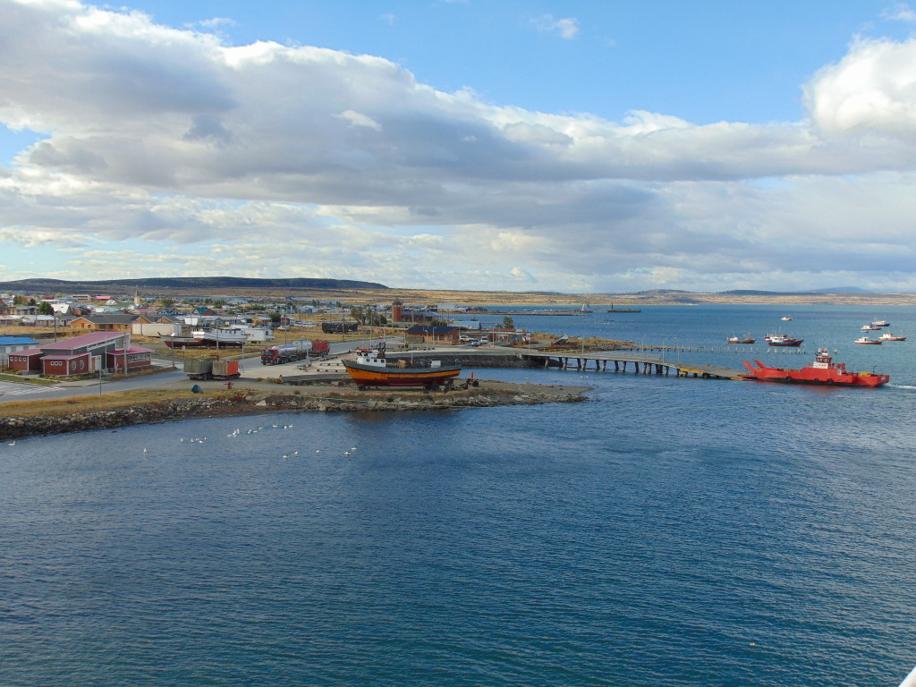 Leaving Puerto Natales