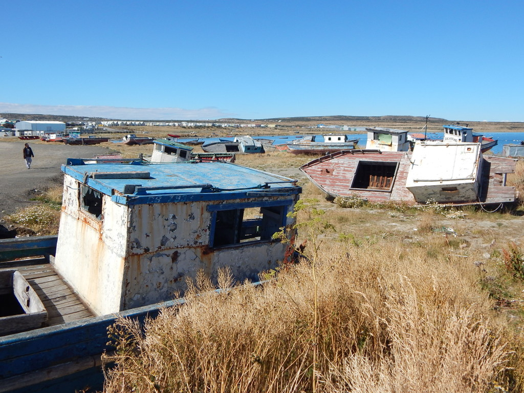 Harbor area of Puerto Natales (Photo: Jeff Perry)