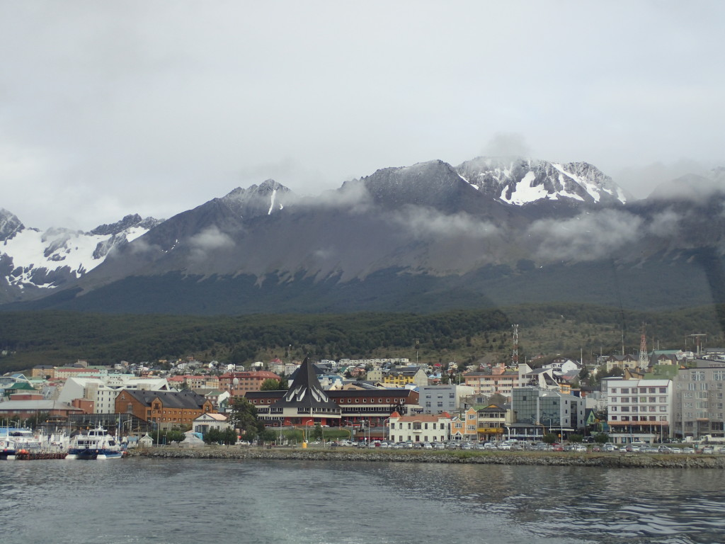 Ushuaia in the morning